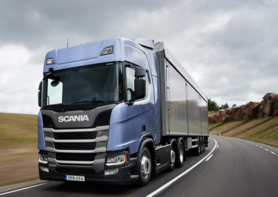 Scania Fleet - Walkingfloor
